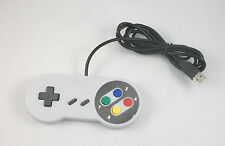 USA SELLER: New Super NES SNES Controller for PC USB for Emulators