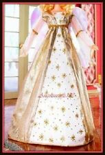 Gold holiday Angel costume fits model muse silk stone Barbie