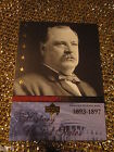 President Grover Cleveland USA History Upper Deck Trading Card