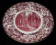 Wedgwood Massachusetts Institute of Technology Mit Dormitories Plate, 10 1/2""