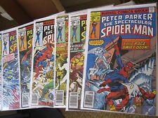 Marvel Comic Book Lot/Run Spectacular Spiderman 1970's series 1-27,29-59++++