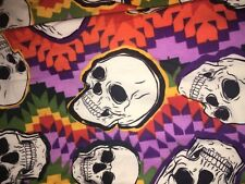 Lularoe LLR HALLOWEEN OS One Size Skulls Rainbow Zig Zag Aztec Grateful Dead