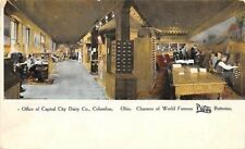 Columbus OH~Capital City Dairy Churners~Card File Cabinet~Purity Butterine 1910