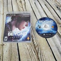 Beyond: Two Souls (Sony PS3 PlayStation 3, 2013) Game Disc and Case  NO Manual