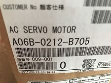 New In Box Fanuc Servo Motor A06B-0212-B705 Cheapest On Ebay