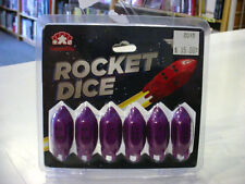 Rocket Dice d6 Pips - Purple