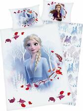 Bettwäsche Flanell Disney Eiskönigin Frozen Anna + Elsa 100 x 135 NEU WOW