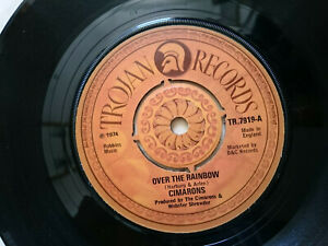 Cimarons Over The Arc en Ciel / We Are Not The Same Trojan Records Lable 1974