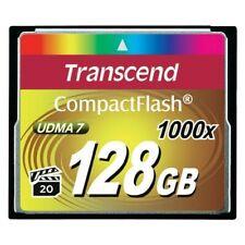 Transcend Ultimate 1000x CompactFlash 128GB 128GB Kompaktflash Speicherkarte SD