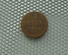 Poland 3 Groszy 1814  Friedrich August I