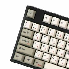 Keyboard PBT Keycap OEM Thermal Cherry Russian Japanese Korean Mechanical Switch