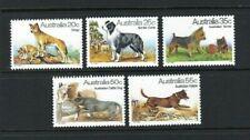 Australia 1980, Dogs sg729/33 MNH