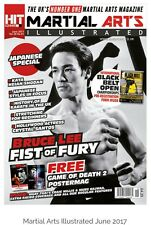 BRUCE LEE,MARTIAL ARTS  ILLUSTRATED JUNE 2017.FIST OF FURY SPECIAL.