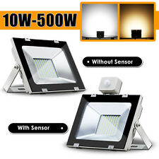 10W-500W LED Flood Light Cool Warm White Work Wall Spot Floodlights IP65 AC240V