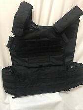 NEW London Bridge LBT 6094D Plate Carrier XXL MOLLE Black LE Duty Husky w/Armor