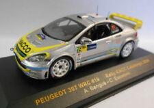 Modellini statici auto da corsa in argento per Peugeot