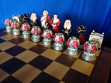 Loon Lake Patriot Theme Heirloom Chess Set - Friends of NRA - Ltd. Ed. #835/1050