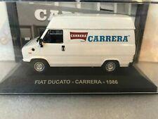 """DIE CAST """" FIAT DUCATO - CARRERA - 1986 """" PUBBLICITARI  1/43"""