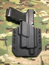 Black Kydex Light Bearing Holster for Glock 19 23 32 Thread Barrel Surefire XC1