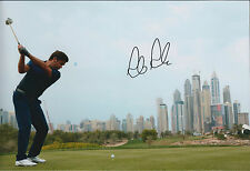 Robert Rock SIGNED Autograph 12x8 Photo AFTAL COA Golf UAE Omega Desert Classic