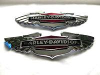 Harley Davidson Tankembleme Tankschilder Tank Embleme Chrom 14100629 14100630