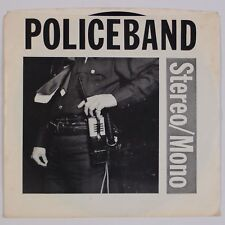 "BORIS POLICEBAND: Stereo / Mono INDUSTRIAL No Wave Minimal 7"" Rare NM-"
