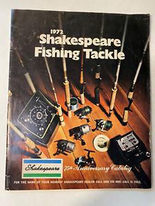 1972 Shakespeare Fishing Tackle 75th Anniversary Catalog