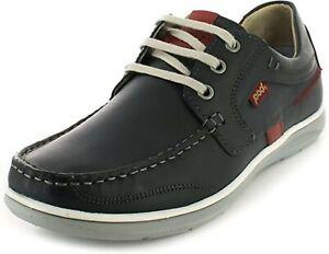 Men's Pod Kestrel Shoes. Navy or Tan