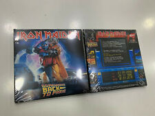 IRON MAIDEN 2 CD SOMEWHERE BACK TO PARIS LIVE AT BERCY 29/11/1986 SEALED