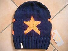 (m44) GREZZO A Maglia Berretto Freaky testa Beanie Inverno Berretto Big Stars + logo ricamate