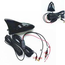 Shark Fin Car Roof Mount Aerials Stereo Radio FM DAB+ GPS Antenna Amplifier Kit