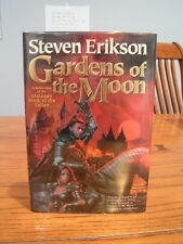 Malazan Book of the Fallen: Gardens of the Moon by Steven Erikson signed 1st ed.