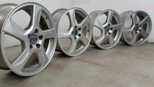 Set Of Genuine 17 Inch VOLVO V70 S60 Alloy Wheels Rims 31200602-SS 7J ET50 5x108