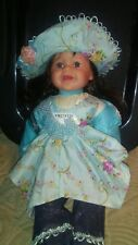 24 Inch Vinyl And Cloth Doll