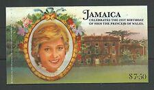 Jamaica 1982  Princess of Whales booklet (SG551-56), fresh mnh.