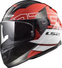 Ls2 Casque Moto integral Ff320 Stream Evo KUB Rouge Noir XS