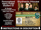 Harry Potter Student ID Badge Hogwarts Gryffindor Personalised Comic Con