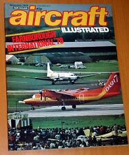 Aircraft Illustrated 1978 November F-4 Phantom,Farnborough,Air Anglia