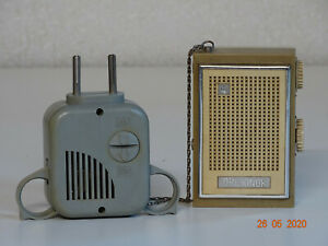 Orljonok Mini Transistor Radio  USSR MW-LW cовет  für Sammler Ladegerät