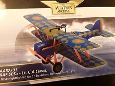 RAF Se5a Lt. C.a. Lewis Corgi 1 48 AA37701