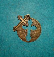 Pendant Cross Pendant Religious Charm Spiritual Crucifix Cross Charm Bronze