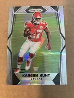 2017 KAREEM HUNT PANINI PRIZM #253 CHIEFS BROWNS ROOKIE RC