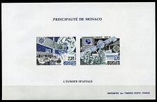 MONACO SPACE  EUROPA 1991  IMPERFORATE  SOUVENIR SHEET SCOTT#1760/61  MINT NH