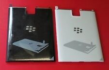 US New OEM BLACKBERRY PASSPORT Q30 BACK REAR COVER DOOR CASE BLACK/WHITE