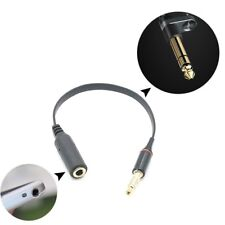 Negro 3.5mm Macho a Hembra Jack Audio Auriculares Cable Alargador Ladrón