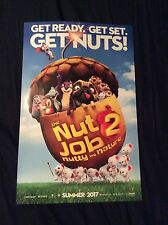 """Brand New The Nut Job 2 Nutty By Nature Movie Premier 11x14"""" Poster I#309"""