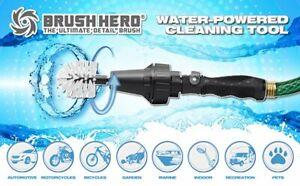 Brush Hero Starter Set | Detail Brush | Connects to Garden Hose | Cars Trucks