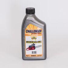 1 lt OLIO PER MOTOSEGA CHALLENGER PROTECTIVE lubrificante miscela biodegradabile