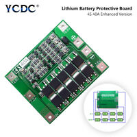 4S 40A 16.8V lithium 18650 Battery BMS PCB Protection Board Charging Module 0C1