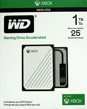 NEW WD - Gaming Drive Accelerated for Xbox One 1TB External USB 3.0 Portable SSD